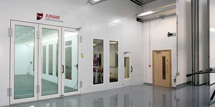 Save Costs and Reduce Your Energy Bills with a Junair Spraybooth