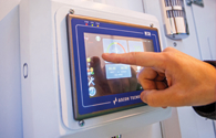 Paint Booth Control Panel