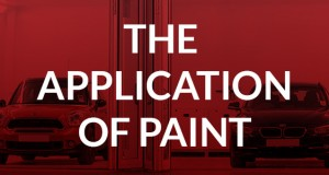 The application of paint